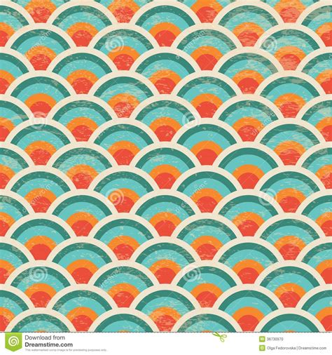 pattern hipster vector seamless geometric circles background pattern stock