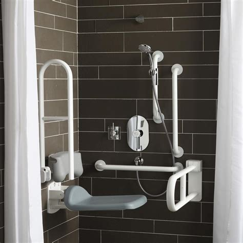 Unisex Communal Showers by Doc M Shower Room Pack Additional Wc Large Washbasin