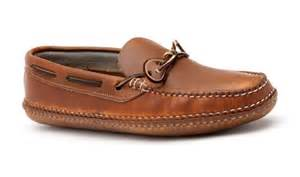 Handmade Moccasins Maine - quoddy dawson moccasin leather footwear