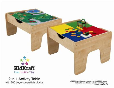 Kidkraft Lego Table by Kidkraft 2 In 1 Activity Table Lego Compatible