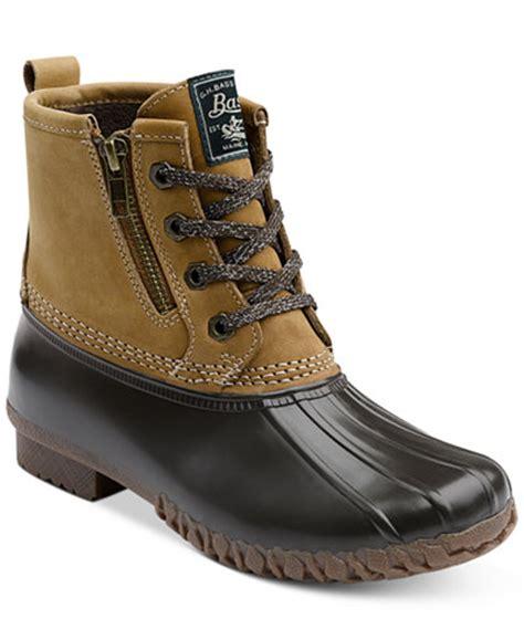 macy s duck boots g h bass co s danielle duck boots boots