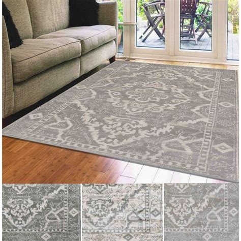 admire home living catherine medallion area rug