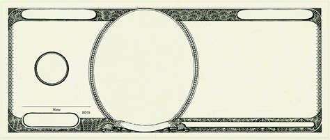 template of dollar bill fundred make