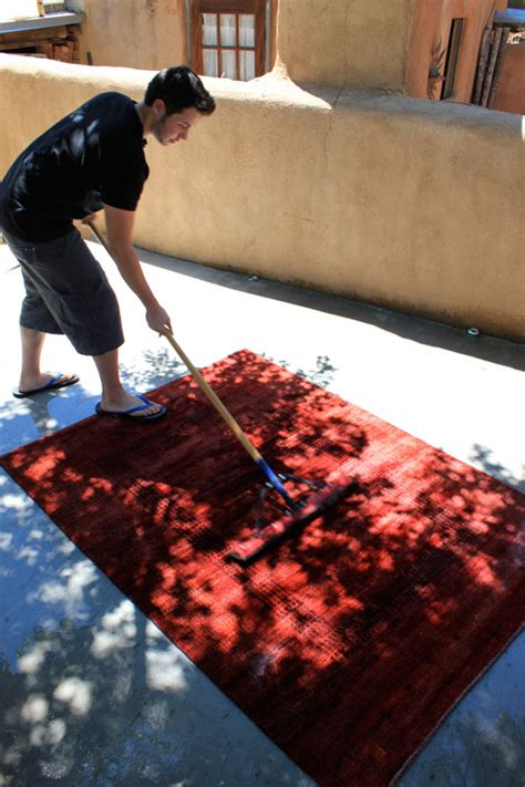 rug cleaning the rugman of santa fe