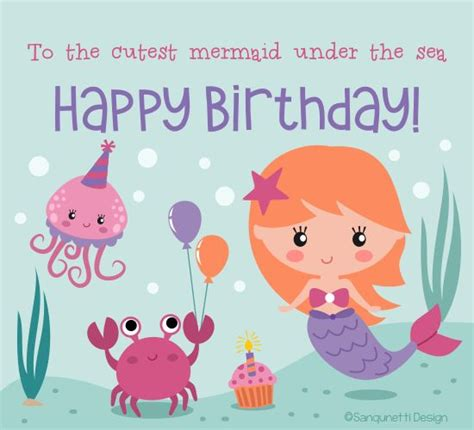 printable birthday cards mermaid best 273 birthday wishes images on pinterest other
