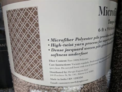 carpet deco triana microfiber area rug mineral springs microfiber area rug