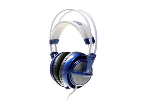 Headset Steelseries Siberia V2 Blue tpu steelseries intros blue siberia v2 gaming headset