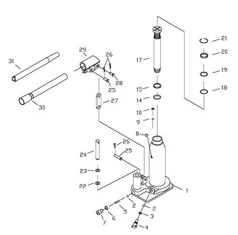 diagram of how to put a ton in diagram hydraulic floor parts diagram