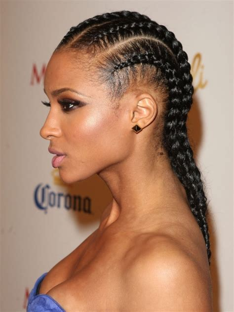 hairstyle ideas with a straightener straight back braids hairstyles for black women women