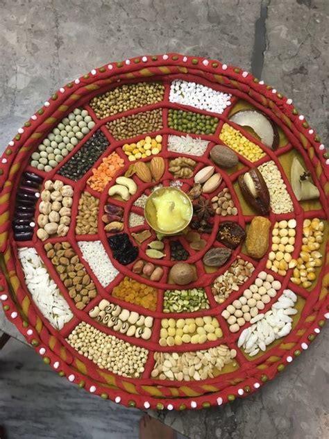 Mutli Grains Plate Decoration   Plate Decoration   Thali