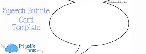 speech cards template printable speech card template printable treats