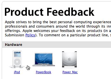 apple feedback betalogue 187 apple s feedback page just don t mention that