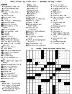 printable puzzles to solve medium difficulty crossword puzzles to print and solve