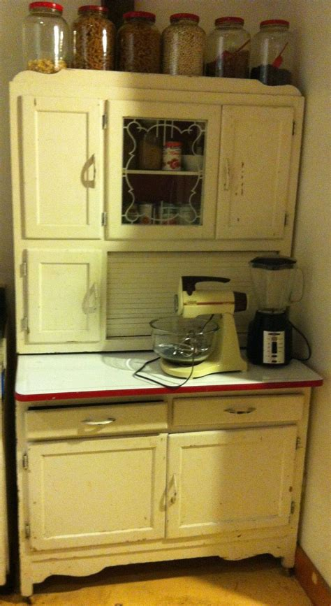 antique hoosier cabinet with flour sifter antique furniture