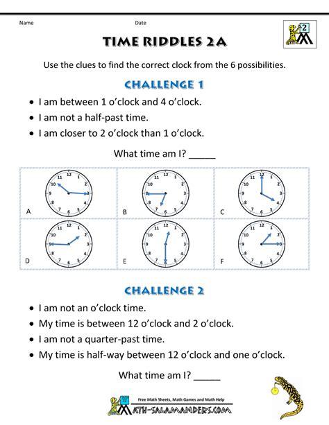 free printable quarter past worksheets printable time worksheets time riddles easier