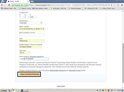 cara membuat akun paypal dengan mudah cara membuat akun paypal dengan mudah da blog dipa