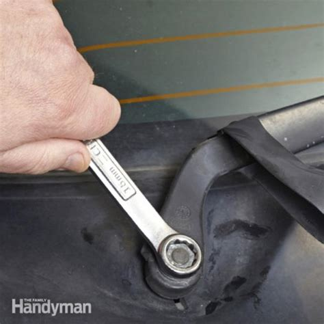 windshield wiper arm replacement the family handyman