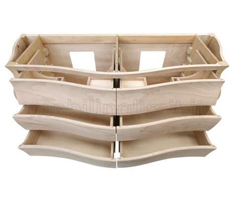 mobile legno grezzo bagno legno grezzo bagni in teak lavelli pietra su misura