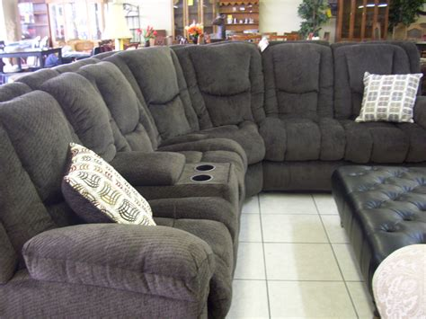 l shaped sectional with recliner reclining sectional sofas casual five piece reclining