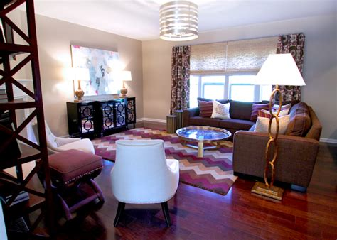purple and brown living room brown and purple living room contemporary living room
