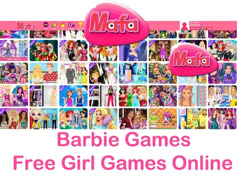 Girl games for free and for kids