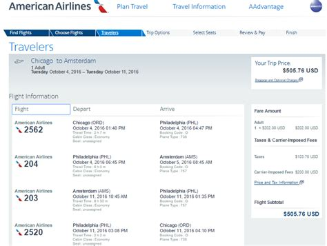 make my trip fare calendar flights united chicago to amsterdam 492 nonstop sep oct aa 506
