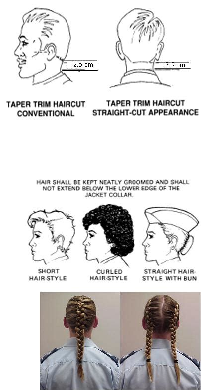 air force female minimum short hair 259 penticton panther royal canadian air cadet squadron