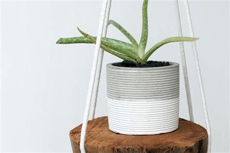 Diy Rope Hanging Planter - diy rope hanging planter diy wiki