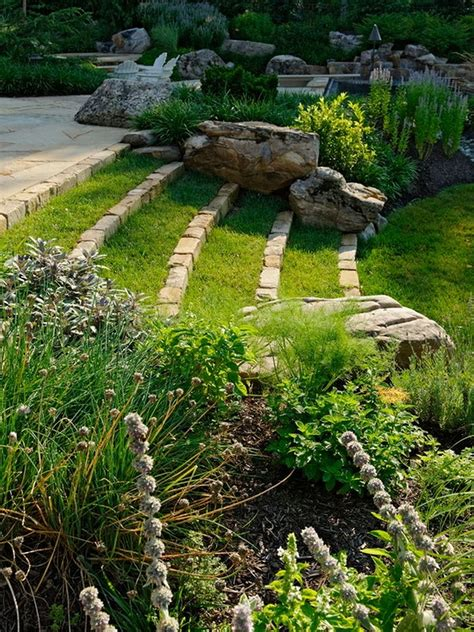 Sloped Backyard Landscaping Ideas Breathtaking Home Garden Ideas Blueprint Great Garden Landscape Ideas Scenic Implements Balance