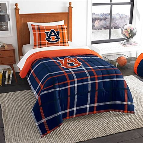 buy auburn university twin embroidered comforter set from