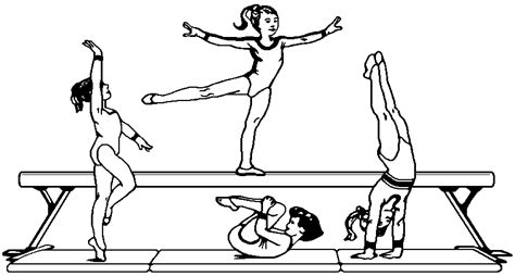 gymnastics coloring pages free printable gymnastics coloring pages 37 pictures quotes and clipart