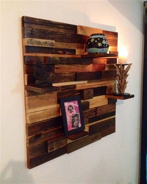 pallet shelves ideas pallet idea