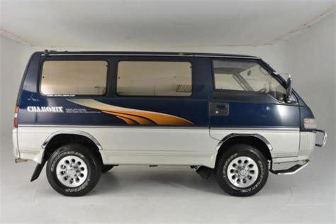 mitsubishi chamonix 1993 mitsubishi delica chamonix 4wd turbo diesel 5 speed
