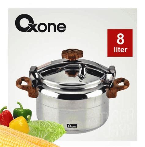 Asli Panci Presto Oxone 4 Liter Ox2004 Pengempuk Daging Limited oxone panci presto alumunium pressure cooker alupress ox2008 alat masak daging empuk tulang