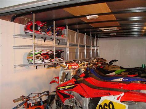 enclosed trailer setups show em motorcycle