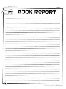 Sle Book Reports For 5th Graders by Edwards Nona 5th Grade Language Arts Printables