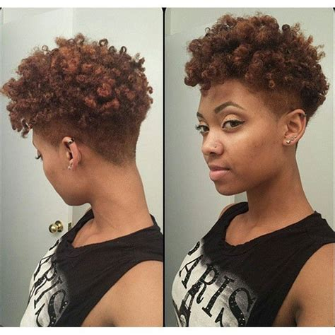 tapered afro hairstyles for women tapered afro google search hair pinterest