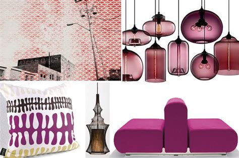 home decor trend mauve lilac and berry tones at home