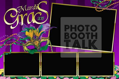 photo booth template psd bourbon by hp designs photo booth talk