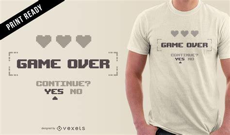 shirt design editor free download minimalist gamer t shirt design vector download