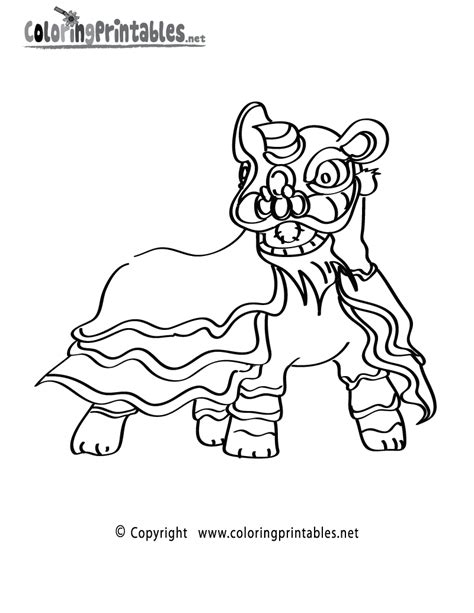 chinese new year lion dance coloring page chinese lion dance coloring page lion dance coloring page