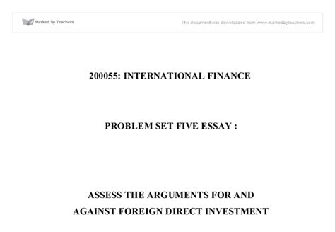 saving international adoption an argument from economics and personal experience books assess the arguments for and against foreign direct