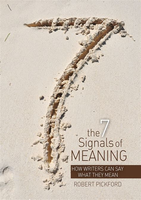 searching for the catastrophe signal the origins of the intergovernmental panel on climate change books the 7 signals of meaning how writers can say what they