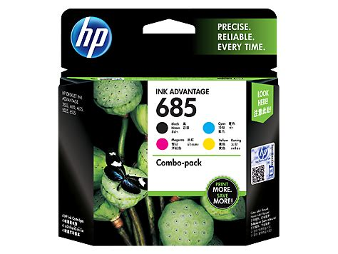 Hp 685 Magenta Original Ink Cartridge Cz123aa hp 685 4 pack black cyan magenta yellow original ink advantage cartridges f6v35aa hp 174 india
