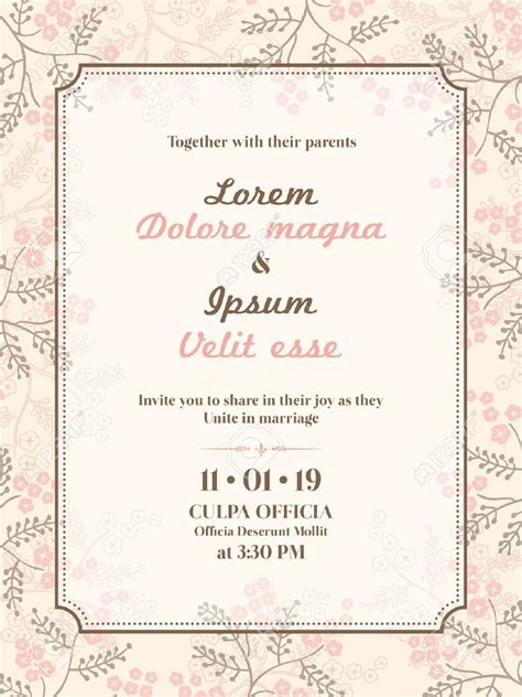 Wedding Invitation Card Format by Invitation Cards Format Cloudinvitation
