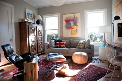 comfortable library eclectic home office dallas  emily mccall