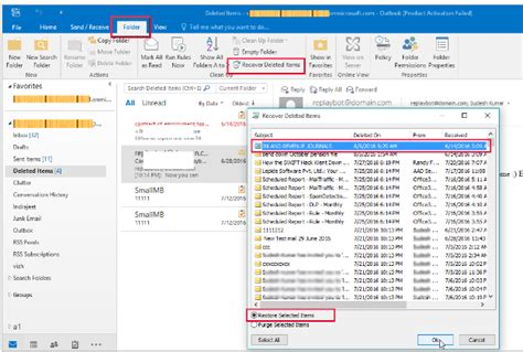 Office 365 Recover Deleted Mailbox How To Recover Deleted Mailbox Items In Office 365