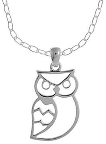 Boma Sterling Silver Owl Earrings silver owl necklace findabuy