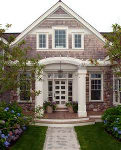 Tours From Boston To Cape Cod - nantucket residence front entry beach style exterior boston by marcus gleysteen architects