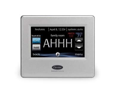 carrier comfort series thermostat thermostats atlanta programmable wifi coolray